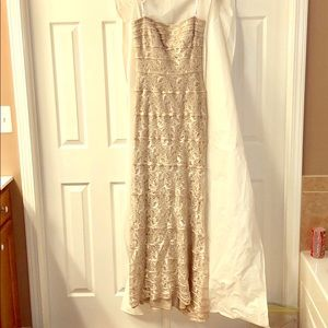 Tadashi lace gown